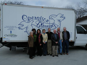 Operation Blessing Van